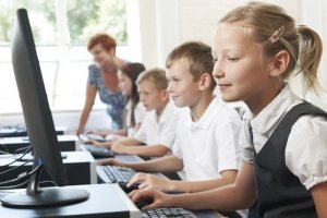 Children on Computers