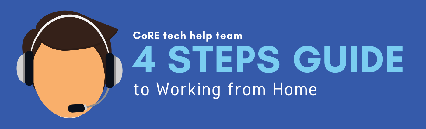 4 Steps guide to working from home